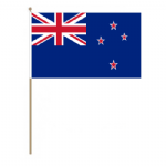 New Zealand Country Hand Flag - Large.